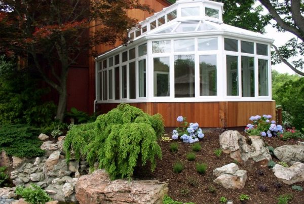Conservatory or Four Season Room